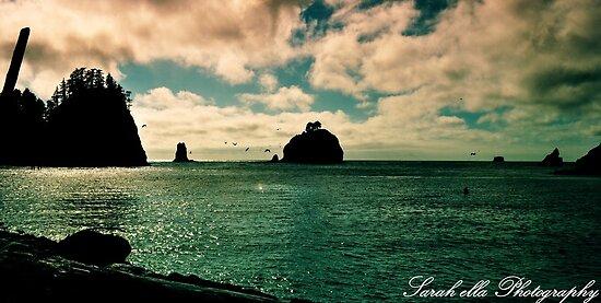 Blue Beach La Push by Sarah Ella Jonason