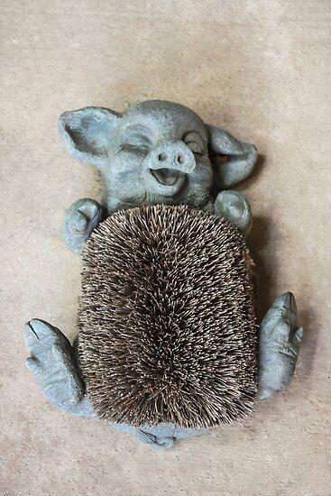 Piggy Brush! by heatherfriedman