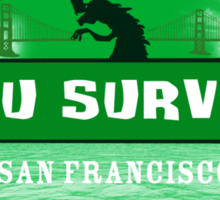 Kaiju Survivor Sticker