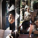 The Book  Reader on the Bus by Mick Kupresanin
