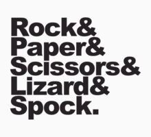 Rock Paper Scissors Lizard Spock by Style-O-Mat