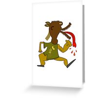 Dog Monster Greeting Card