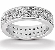 diamond eternity wedding bands and Leaf wedding band by weddingbands25