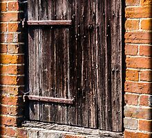 Ye Olde Wooden Door by mlphoto