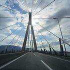 Rio-Antirio bridge, Greece by Eleanor11