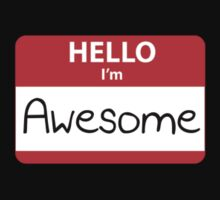 Hello I'm Awesome by BrightDesign