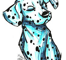 Brush Breeds-Dalmatian by Alexa H.J.