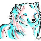 Brush Breeds-Samoyed by Alexa H.J.