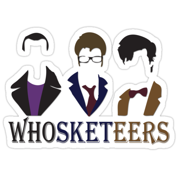 The 3 Whosketeers by jpmdesign