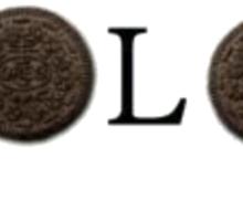 YOLO Oreo Sticker