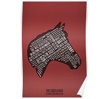 Godfather - Horses Head Quotes Print Poster
