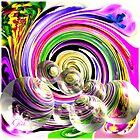 """ Swirls And Bubbles"" by Gail Jones"