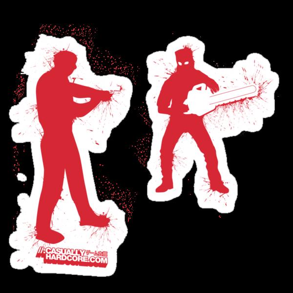 Chainsaw Zombie by GeekGamer