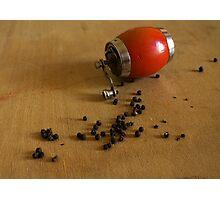 black pepper Photographic Print