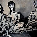 black spotted women by glennbrady