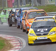 750 MC Stock Hatch - Saxo Train into Druids, Brands Hatch by motapics