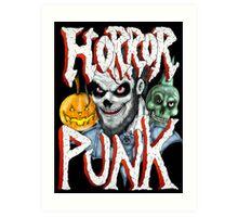 Horror Punk Art Print