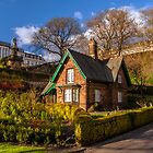 Gardener's Cottage, Princes Street Garden's by Beautiful Edinburgh
