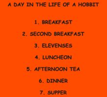 A Day In The Life Of A Hobbit Kids Clothes