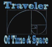 Traveler of time & space Kids Clothes