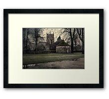 Haunted Village Framed Print
