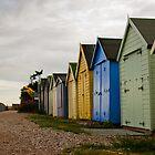 Suffolk Beach Houses by alanrickman