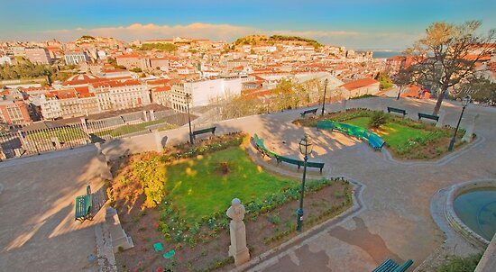 miradouro de S.Pedro de Alcântara by terezadelpilar~ art & architecture