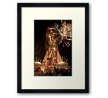 Ferris Wheel Hungerford Berkshire Framed Print