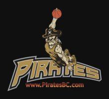 Pirates Basketball Club logo Kids Clothes