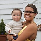 "Kayla and Her Favorite ""Little Man"" by WeeZie"