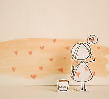 Spreading LOVE! by caracarmina