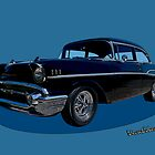 57 Chevy Belair by ChasSinklier