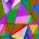 Colorful triangle by RosiLorz