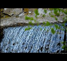 The Historic Grist Mill Dam Detail - Stony Brook, New York by © Sophie W. Smith