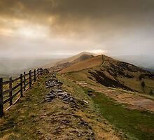 Path from Mam Tor by John Dunbar