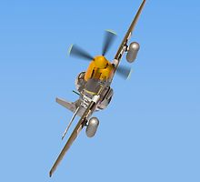 P51 Mustang i Phone Case  by Colin J Williams Photography
