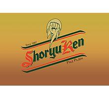 Shoryuken pale pilsen Photographic Print