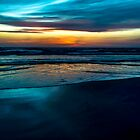 neptune beach sunset by kevin  caldwell