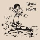 Bran and Hodor by hunekune