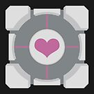 Companion Cube by TanisKetra