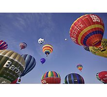 Alot of hot air Photographic Print