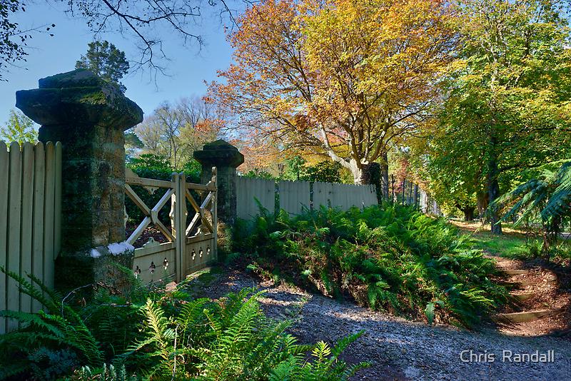 Garden Entrance, Mt Wilson by Chris  Randall