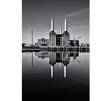 Battersea Power Station (England) Mono Photographic Print