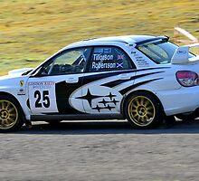 Subaru Impreza No 25 by Willie Jackson