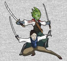 Vastra and Jenny - Demons Run by Douggiedoo