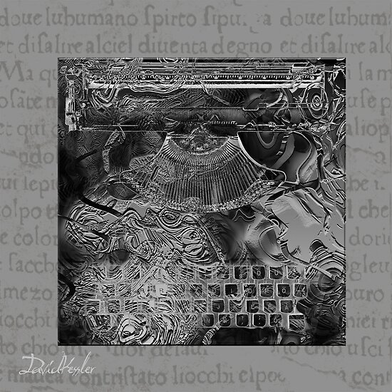 morte verbum  (word death) by David Kessler