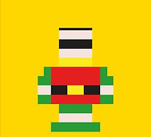 Robin in Bricks! by Jonathan  Ladd