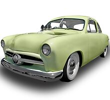 Ford - 1950 Sedan by axemangraphics