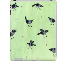 Magpies iPad Case/Skin