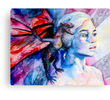 Daenerys Targaryen - game of thrones  Metal Print